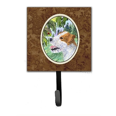 Caroline's Treasures Jack Russell Terrier Leash Holder and Wall Hook