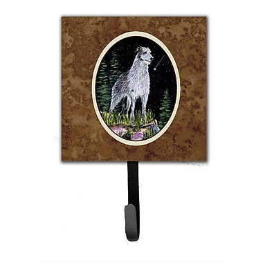 Caroline's Treasures Starry Night Scottish Deerhound Leash Holder and Wall Hook