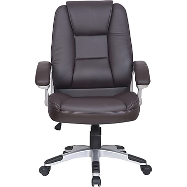 Just Cabinets Deluxe Desk Chair; Mocha