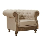 Armen Living Barstow Chesterfield Chair
