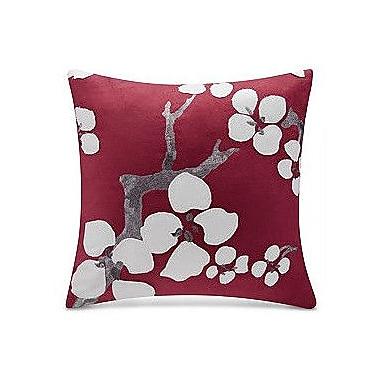 N Natori Cherry Blossom Throw Pillow