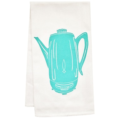 Artgoodies Organic Coffee Percolator Tea Towel