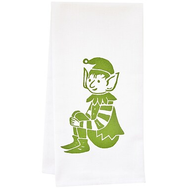Artgoodies Organic Stripey Elf Tea Towel