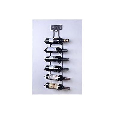 Welland Industries LLC 6 Bottle Wall Mounted Wine Rack