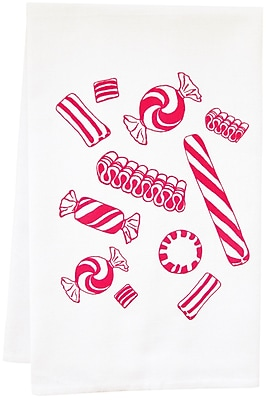 Artgoodies Organic Candy Tea Towel