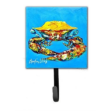 Caroline's Treasures Crab Baby Leash Holder and Key Hook
