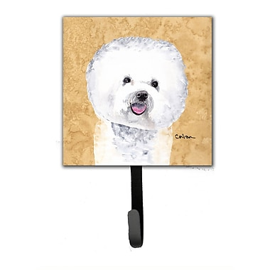 Caroline's Treasures Bichon Frise Leash Holder and Wall Hook