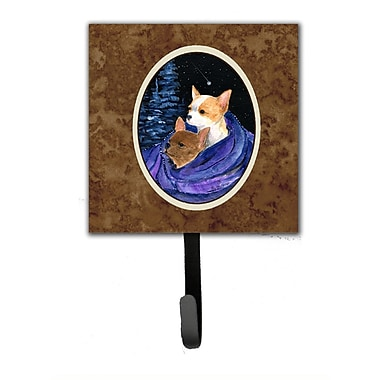 Caroline's Treasures Starry Night Chihuahua Leash Holder and Wall Hook