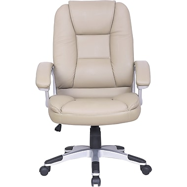 Just Cabinets Deluxe Desk Chair; Mushroom