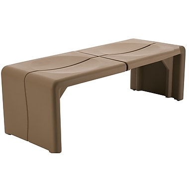 Peter Pepper Crater Bench; Terracotta