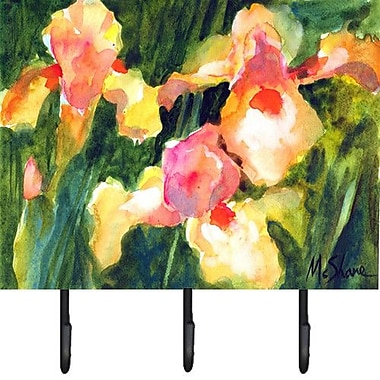 Caroline's Treasures Iris Flower Key Holder