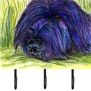Caroline's Treasures Briard Leash Holder and Key Hook