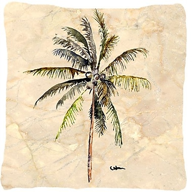 Caroline's Treasures Palm Tree Indoor/Outdoor Throw Pillow