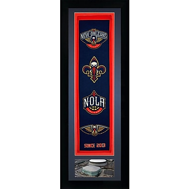 Legends Never Die NBA Framed Graphic Art; New Orleans Pelicans