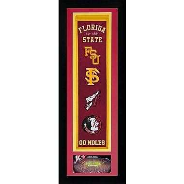 Legends Never Die NCAA Framed Graphic Art; Florida State Seminoles