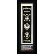 Legends Never Die NFL Framed Graphic Art; Oakland Raiders