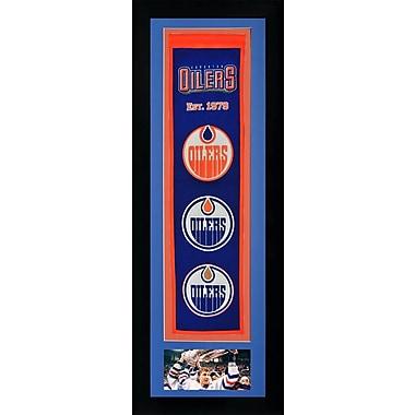 Legends Never Die Framed Graphic Art; Edmonton Oilers