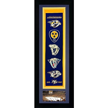 Legends Never Die Framed Graphic Art; Nashville Predators