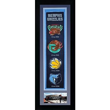 Legends Never Die NBA Framed Graphic Art; Memphis Grizzlies