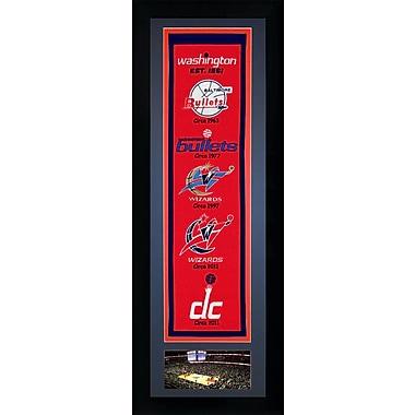 Legends Never Die NBA Framed Graphic Art; Washington Wizards