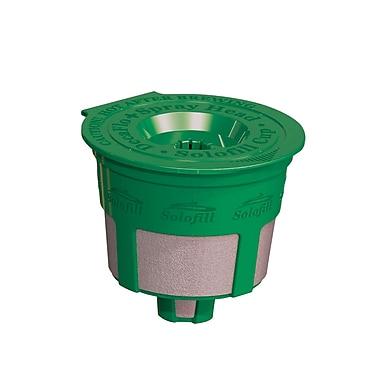 Solofill K2 Refillable Coffee Filter; Green