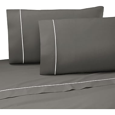 Martex Pipeline 200 Thread Count Graphite Sheet Set; Full