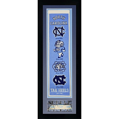 Legends Never Die NCAA Framed Graphic Art; North Carolina Tar Heels