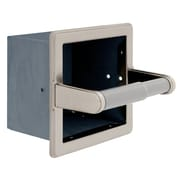 Franklin Brass Beveled Recessed Extra-Roll Paper Holder (972SN)