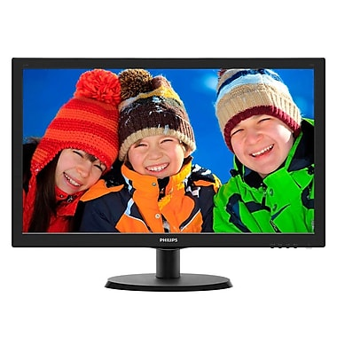 "Philips 223V5LSB/27 21.5"" LED Monitor with SmartControl Lite, 1920 x 1080"