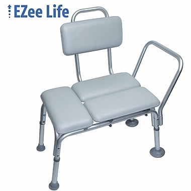 Ezee Life (CH1010) Padded Shower Transfer Bench