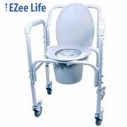 Ezee Life (CH1020) Economy Wheeled Commode
