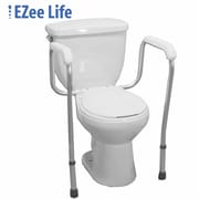 Ezee Life (CH1040) Toilet Safety Frame, White