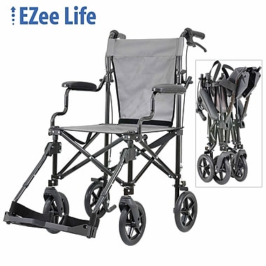 Ezee Life (CH1043) The Traveler Transport Chair with Case