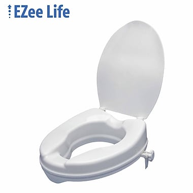 Ezee Life (CH2028) Raised Toilet Seat with Lid