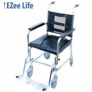 Ezee Life (CH3054) Stainless Steel Rehab Commode Chair