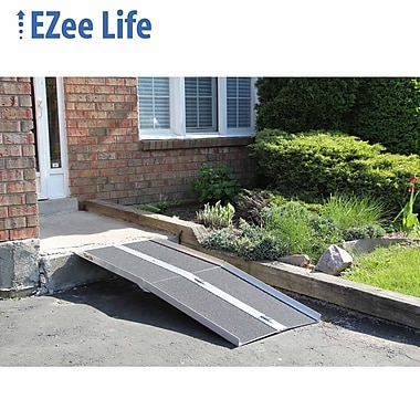 Ezee Life (EZ5RGT) 5' Multi-Fold Ramp with Grip Tape