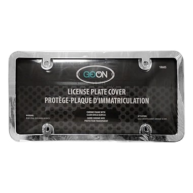 Goon License Plate Cover, Chrome
