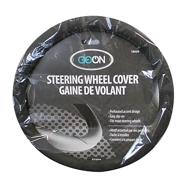 Goon Steering Wheel Cover, Grey