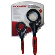 Toolmaster 2-Piece Strap Wrench Set