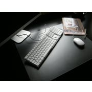 "Desktex PVC Smooth Back 20"" x 36"" Desk Mat, Rectangular (FRDE2036V1)"