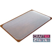 "Craftex Ultimate Polycarbonate Anti-Slip 29"" x 59"" Table Protector (FRCRAFT2949RA)"