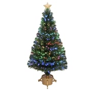 Jolly Workshop 4' Green Artificial Christmas Tree w/ LED Light w/ Stand