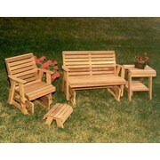 Creekvine Designs Cedar Classic Rocking Glider Furniture Collection; No Finish