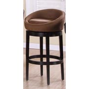 Armen Living Igloo 30'' Swivel Bar Stool; Brown