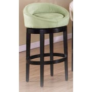 Armen Living Igloo 30'' Swivel Bar Stool; Green