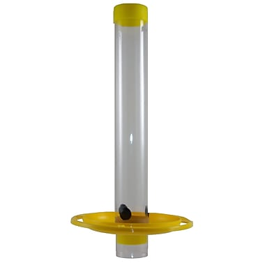 Nelson Products Company Tube Nyjer/Thistle Bird Feeder; Yellow