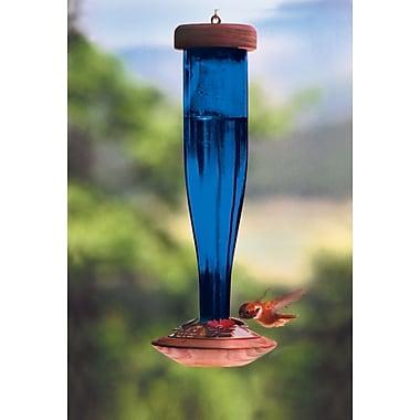 Schrodt Lantern Hummingbird Feeder; Cobalt