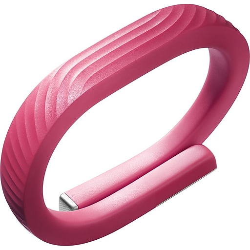 Jawbone Up24 Fitness Tracker Refurbished Pink Coral Large Staples
