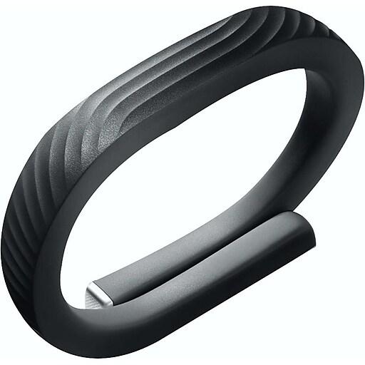 Jawbone Up24 Fitness Tracker Refurbished Onyx Medium Staples