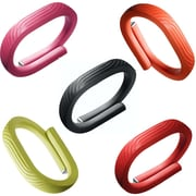 Jawbone UP24 Fitness Tracker, Refurbished - Onyx - Medium